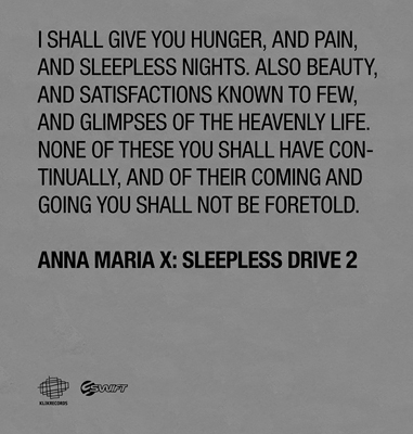 Anna Maria X – Sleepless Drive 2