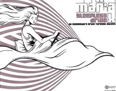 Anna Maria X - Sleepless Drive cover