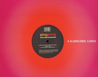 Klv001 Nikos Diamantopoulos - Ping Pong 12''