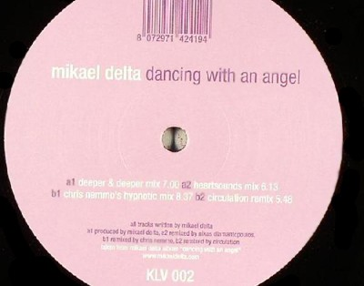 klv002 Mikael Delta - Dancing With An Angel 12''