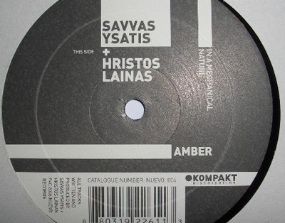 Nuevo 004 Savvas Ysatis Christos Lainas - In A Mechanical Nature Ep 12'' Vinyl