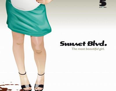 Sunset Blvd - The Most Beautiful Girl