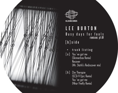 Lee Burton - Busy Days For Fools Ep