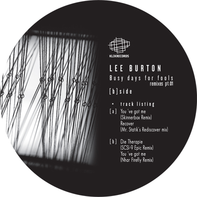 Lee Burton – Busy Days For Fools Ep