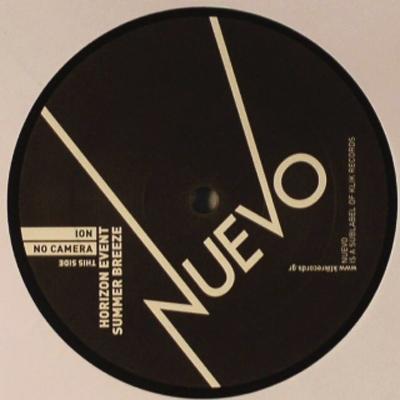"""Nuevo 002 Ion – No Camera Sessions Ep 12"""" Vinyl"""